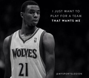 Andrew Wiggins Timberwolves 23 300×265