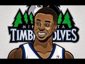 Andrew Wiggins Timberwolves 26 300×225