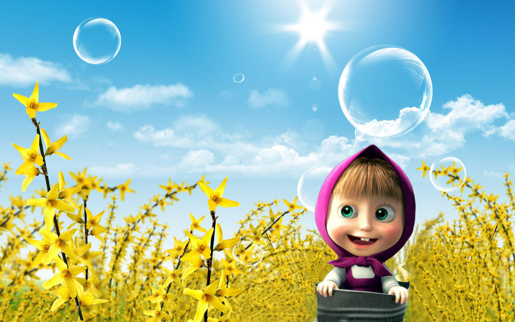 Animated Wallpapers Animated Baby Girl Wallpaper