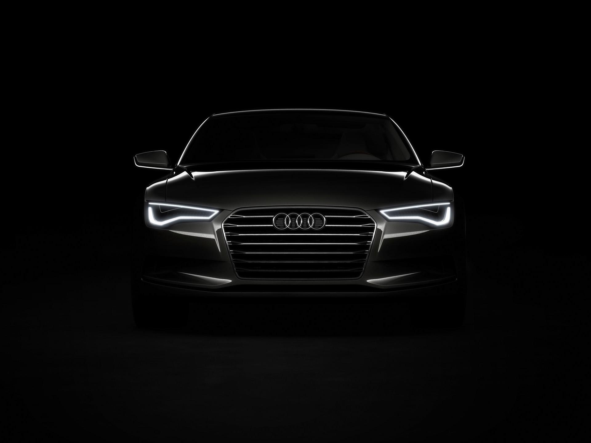 Audi Black Cars Wallpapers 3