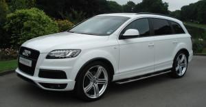 Audi Q7 White S Line 1 300×156
