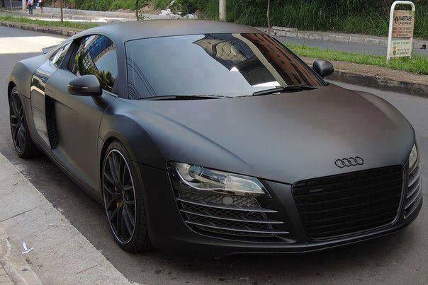 Audi R8 Black Matte
