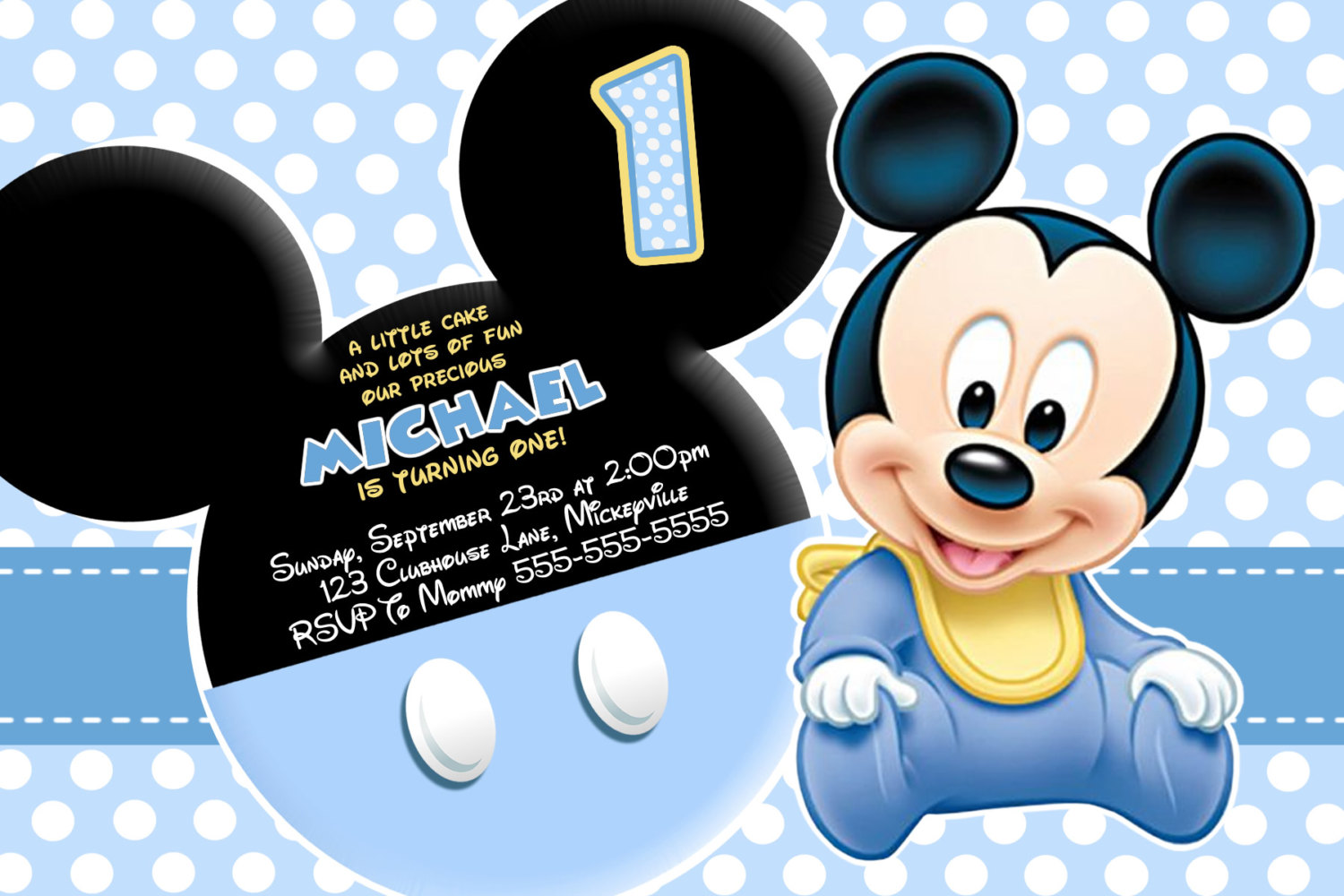 baby mickey mouse 1st birthday wallpaper impremedianet