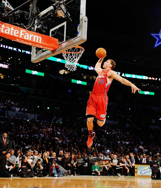 Pin Blake Griffin Dunks Over A Car Wins 2011 Sprite Slam ...