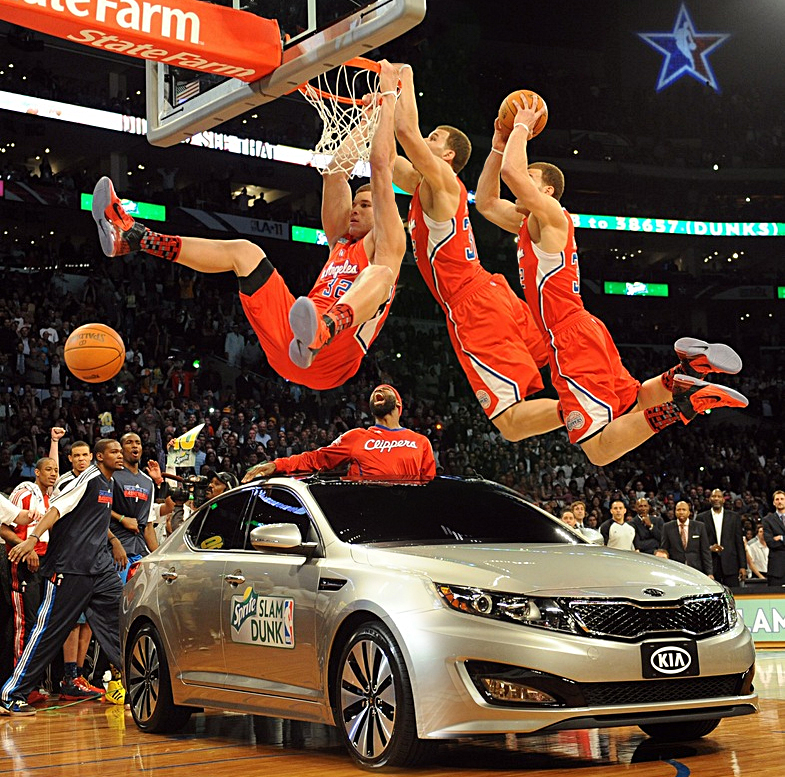 Blake Griffin Dunk IPhone Wallpaper 7