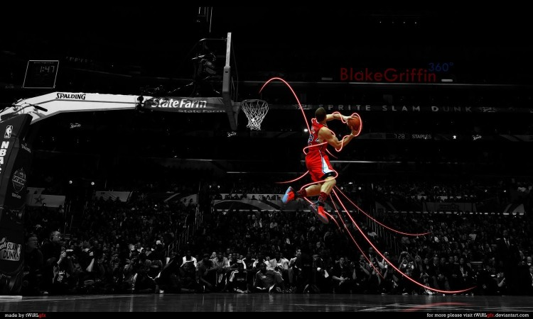 Blake Griffin Dunk Wallpaper 12 750×450