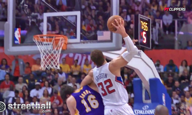 Blake Griffin Dunk Wallpaper 3 750×450