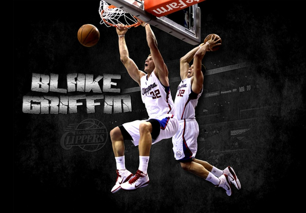 Blake Griffin Dunk Wallpaper 4 1024×713
