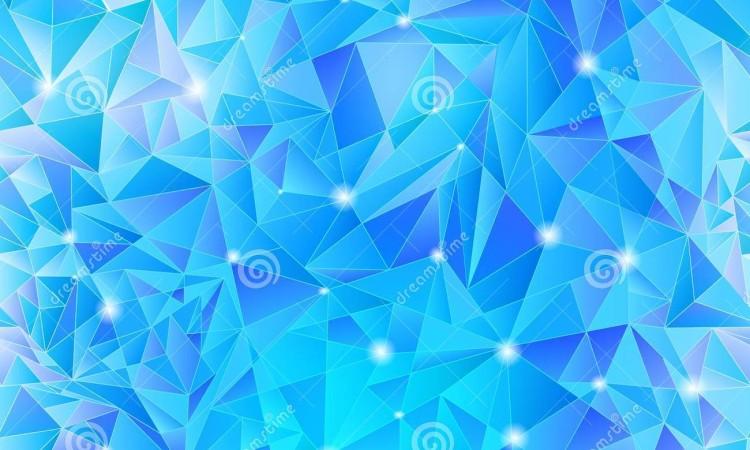 Blue Geometric Background 23 750×450