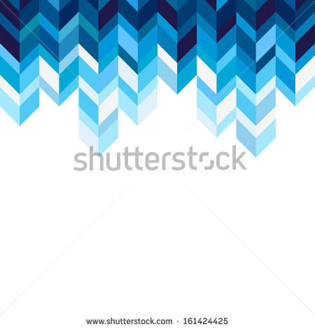 Blue Geometric Background 5