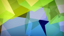 Blue Geometric Wallpaper 13