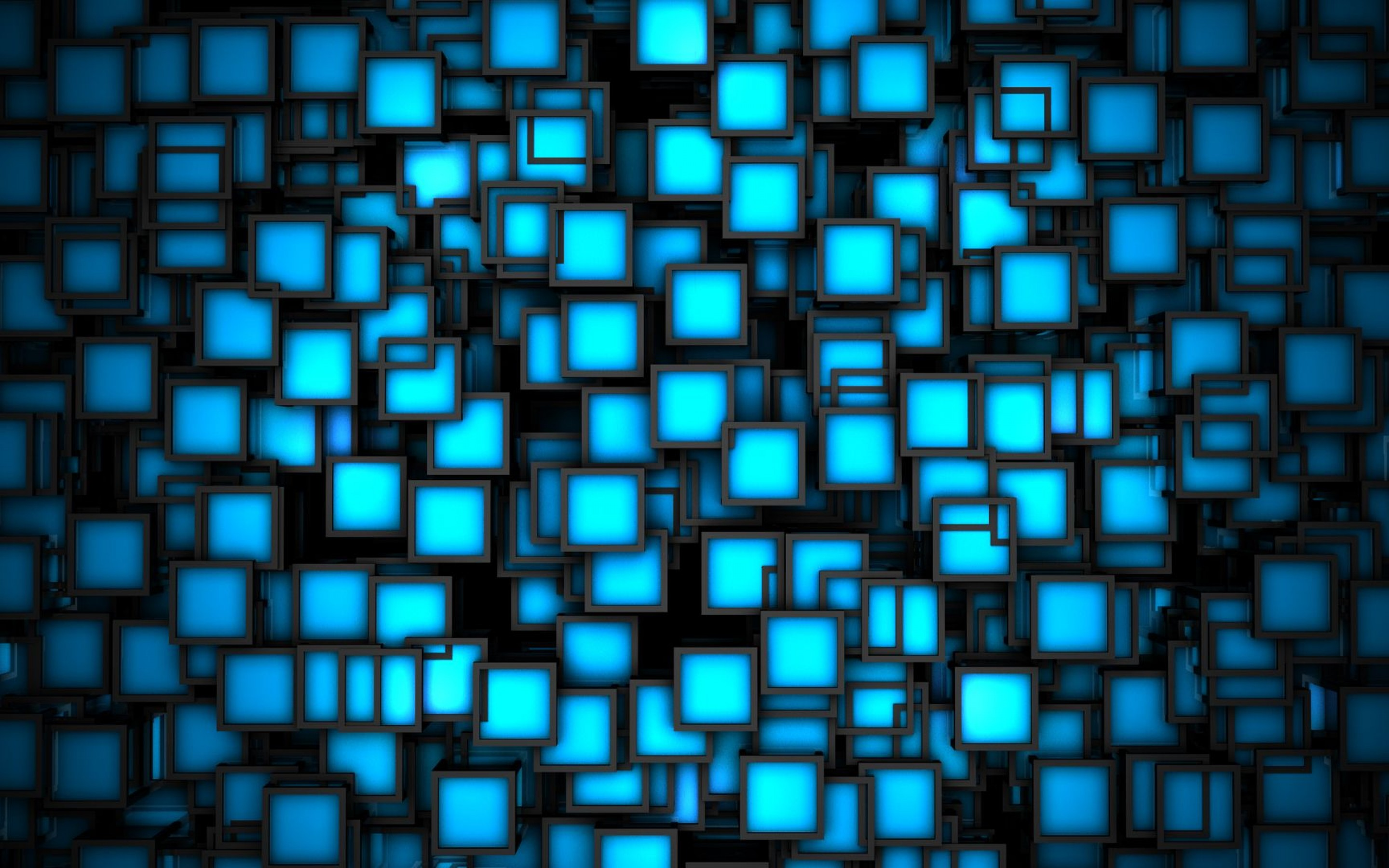 Blue Geometric Wallpaper 18