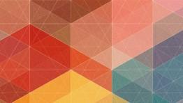 Blue Geometric Wallpaper 4 1170×450
