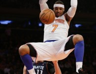 Carmelo Anthony Dunk