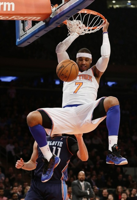 the gallery for gt carmelo anthony dunking