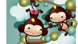 Cartoon Monkey Wallpaper 10 700×450