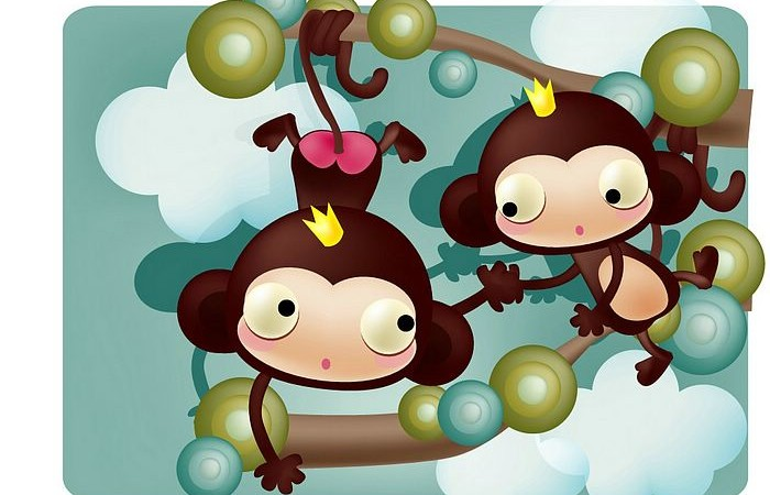 Cartoon Monkey Wallpaper 10 700×450