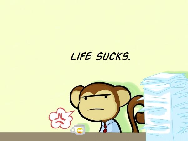 Cartoon Monkey Wallpaper 6