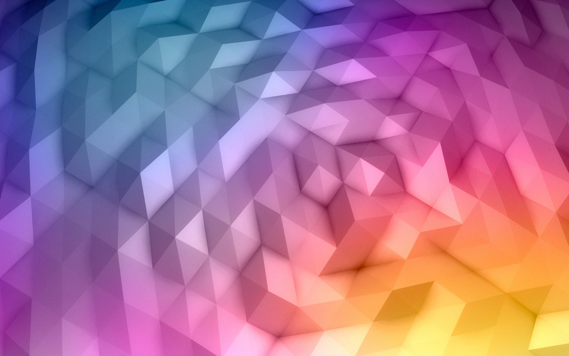 Colorful Geometric Wallpaper 17