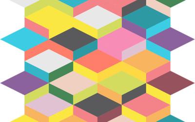 Colorful Geometric Wallpaper 24 400×250