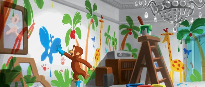 Curious George Wallpaper 19 700×300