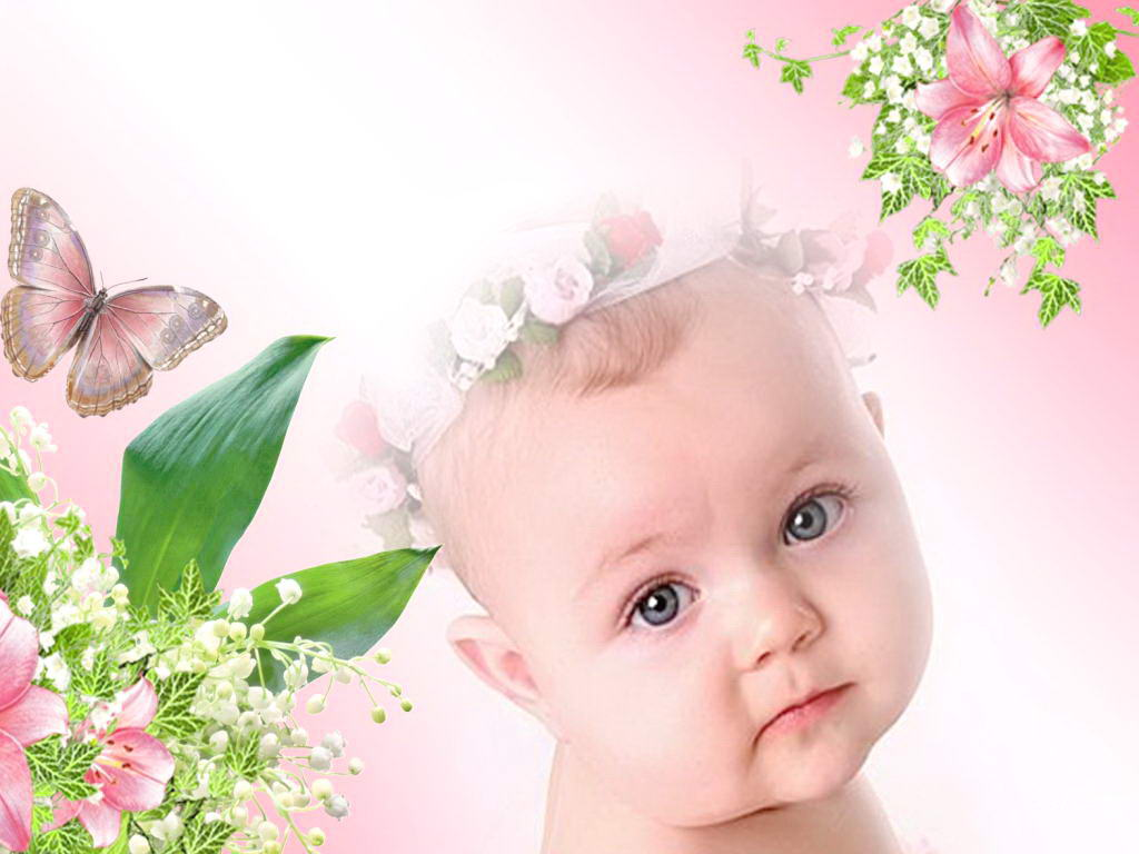 Pin Babies-photos-with-flowers on Pinterest
