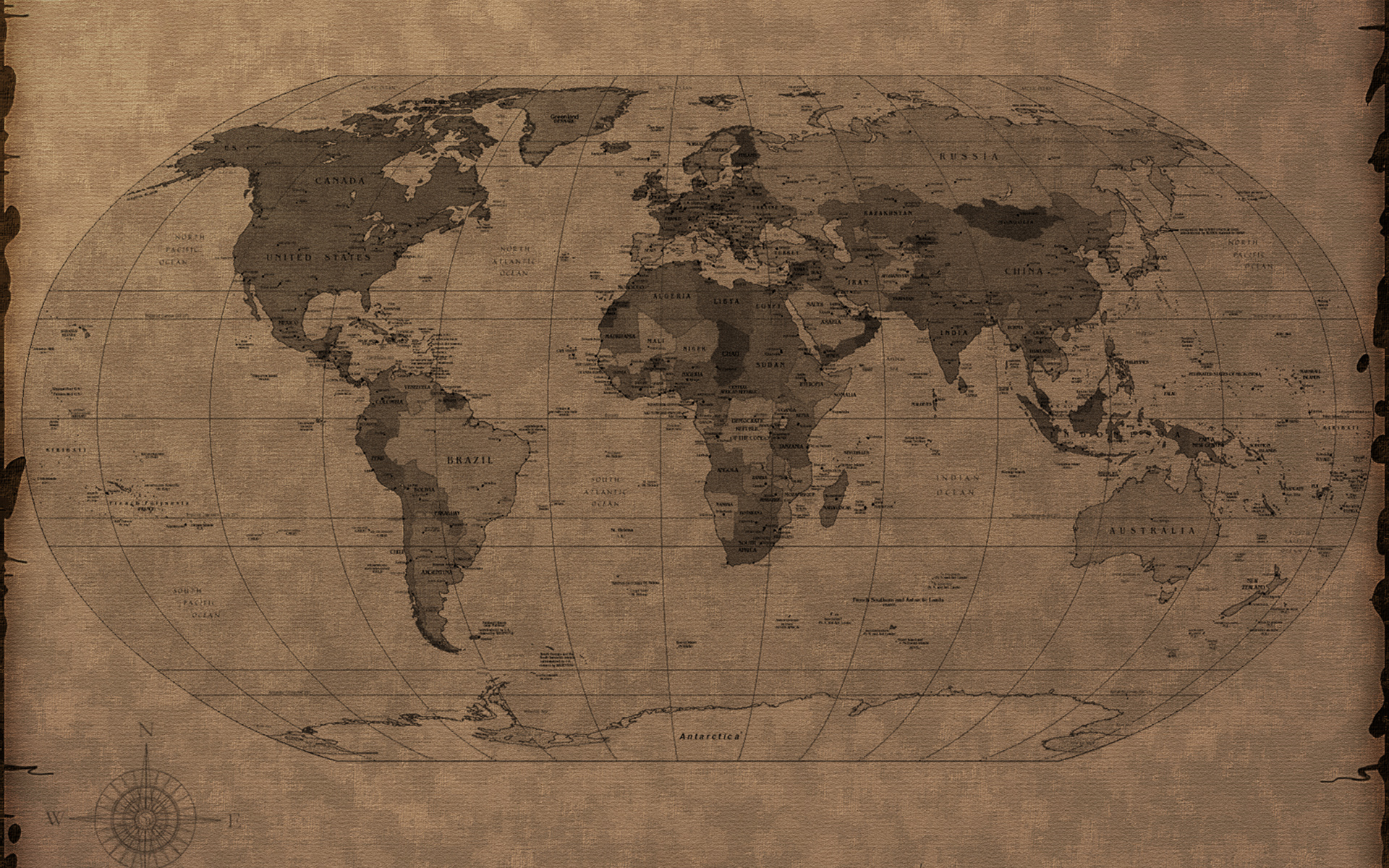 Earth Map Wallpaper 42