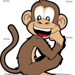 Funny Cartoon Monkey Wallpaper 9 150×150