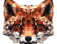 Geometric Animal Wallpaper 17 194×150