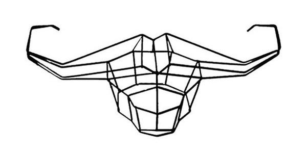 Geometric Animal Wallpaper 23 600×300