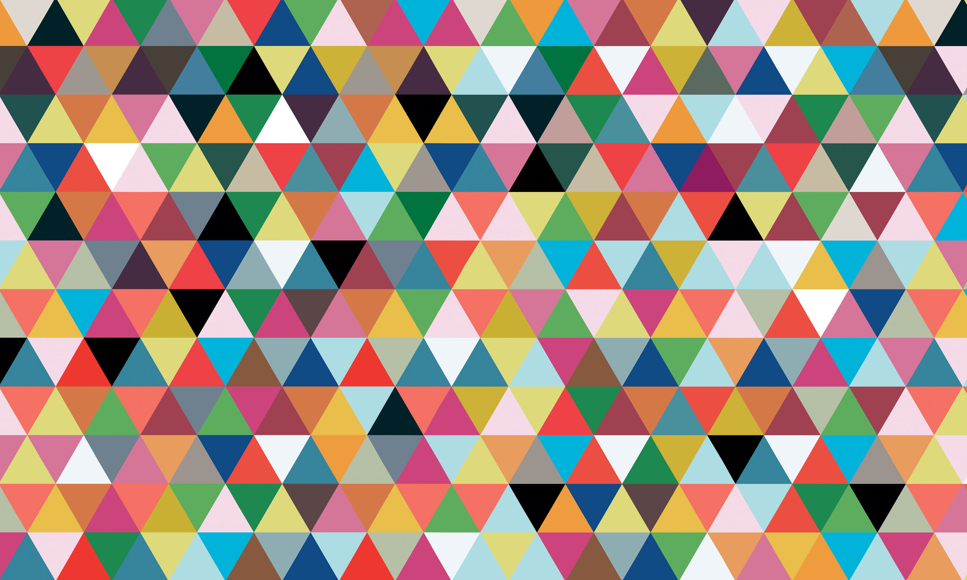 Triangle Geometric Pattern Wallpaper