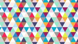 Geometric Triangle Wallpaper 6 700×300