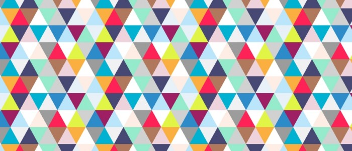 Geometric Triangle Wallpaper 6 700×300