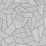 Geometric Wallpaper Black 23 150×150