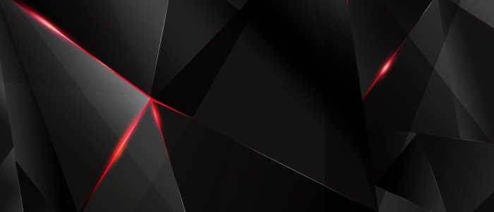 Geometric Wallpaper Black 9 700×300