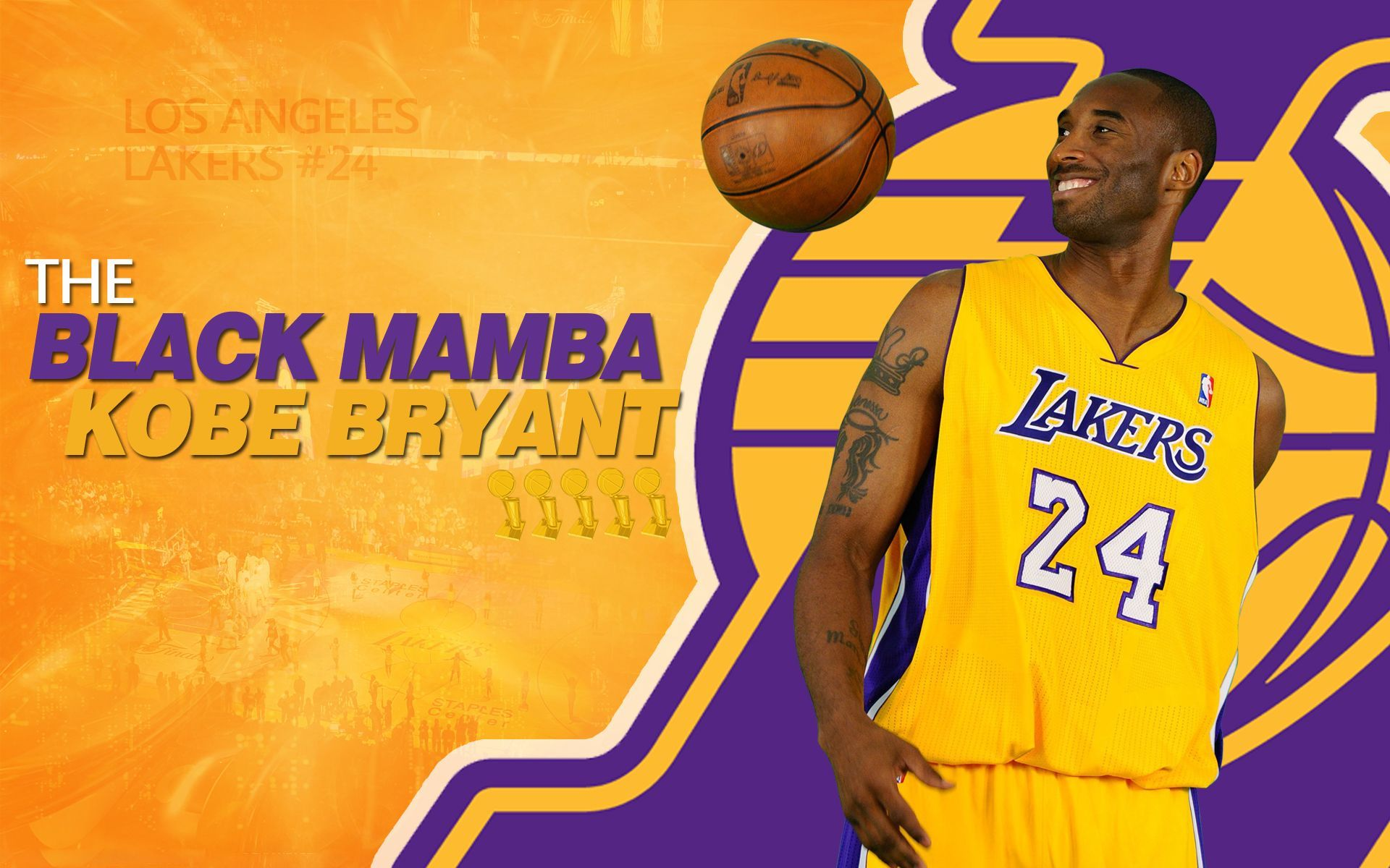 Kobe Bryant Wallpaper Black Mamba 22