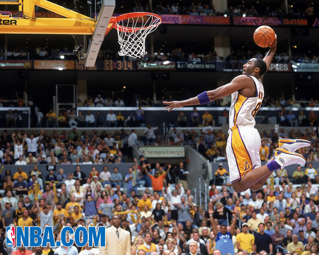 Kobe Bryant Wallpaper Dunk 19 1024×819