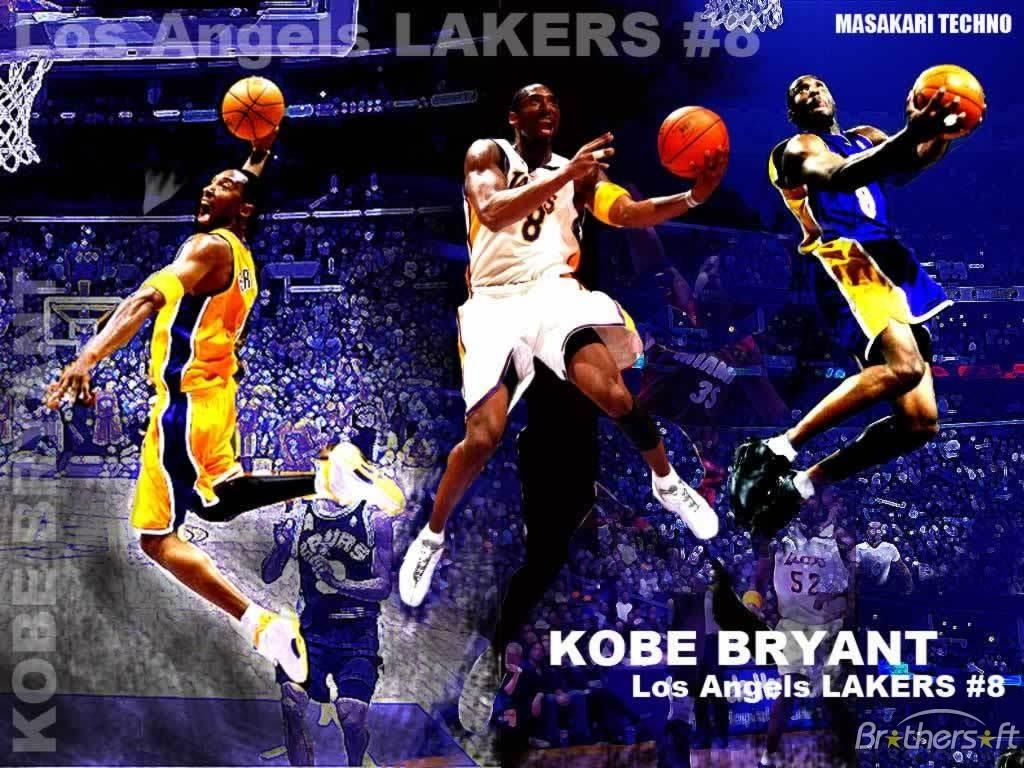 Kobe Bryant Wallpaper Dunk 22 1024×768