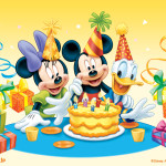 Mickey Mouse Birthday Wallpaper 21 150×150