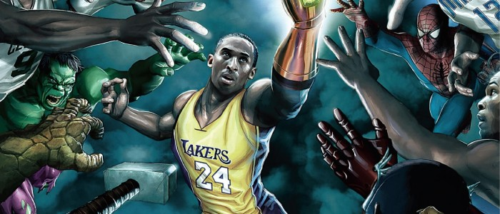 Avenger Brawl with Kobe Bryant