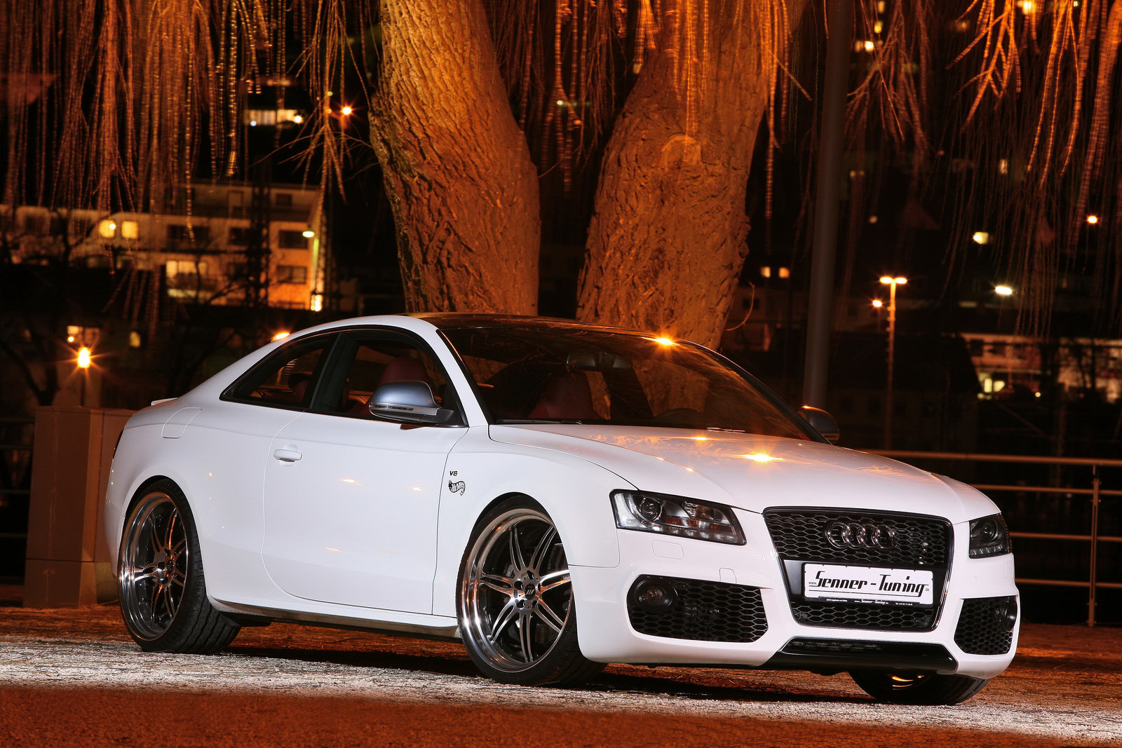 White Audi Cars Wallpapers 3