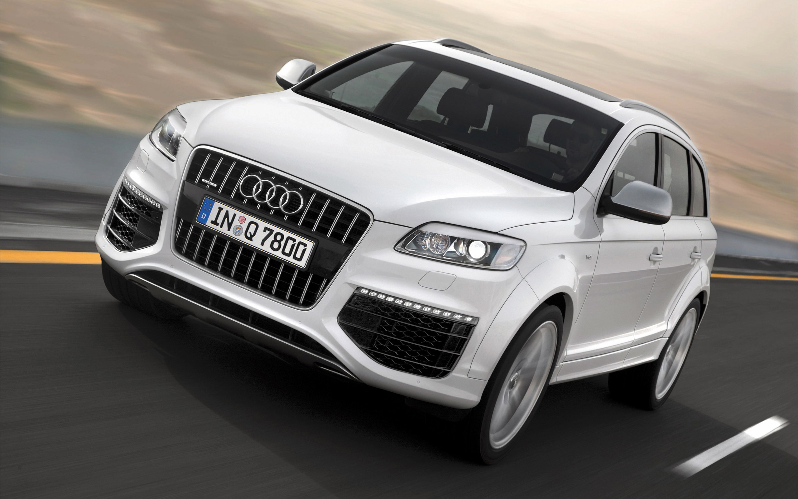 White Audi Cars Wallpapers 41