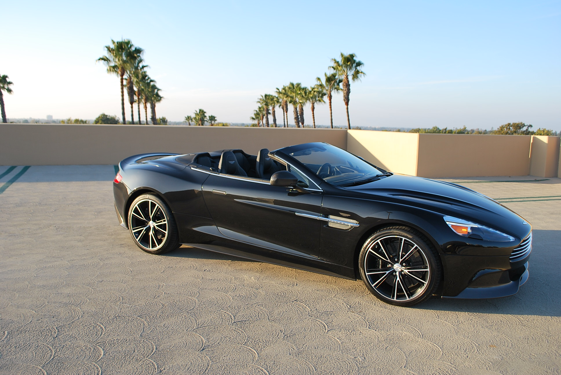 Aston Martin Db9 Black Convertible 1