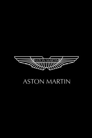 Aston Martin Logo Black 15