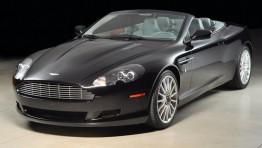 Aston Martin Vanquish Black Convertible 1024×680