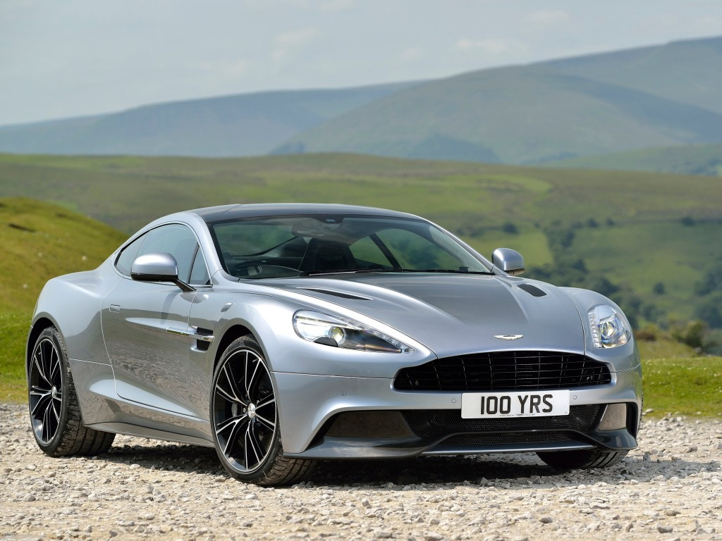 Aston Martin Vanquish Silver 1024×768