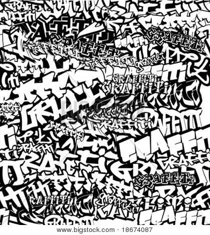 Black And White Graffiti Wallpapers 13