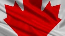 Cool Canada Flag For iPhone