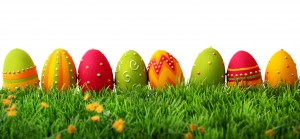 Colorful Easter Eggs 6 300×139