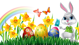Easter Bunny Clipart 15